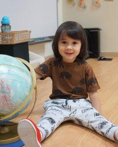 Noah and Globe at school 2016 2