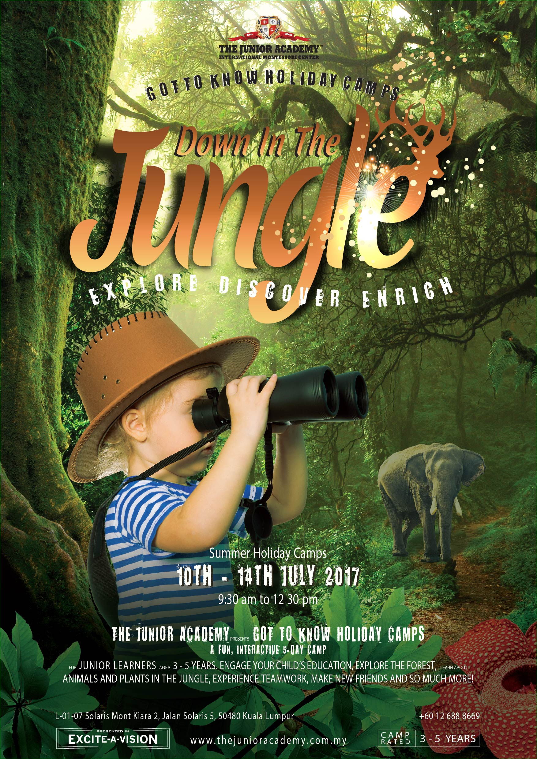Holidays Camp A3 Jungle poster110417-01