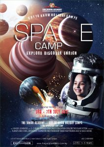 Holidays Camp A3 Space poster140417-01